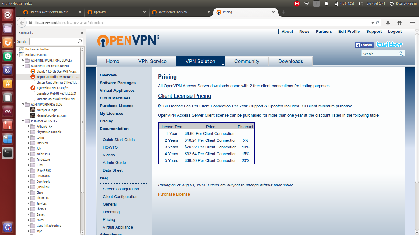 "UBUNTU SERVER: ""AN USEFUL WEB INTERFACE TO MANAGE OPENVPN ON"