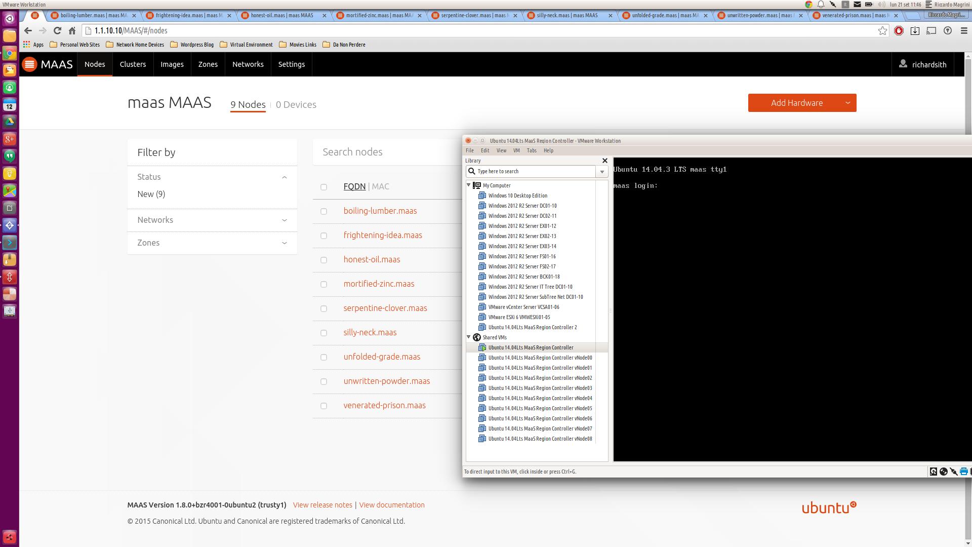 """Ubuntu Server: """"How to manage the virtual machines created via"""